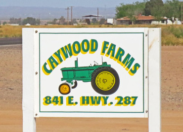 Caywood Farm Sign